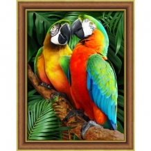 Diamond Painting Papegaaien in de Jungle