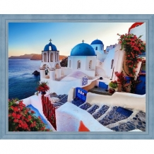 Diamond Painting Santorini