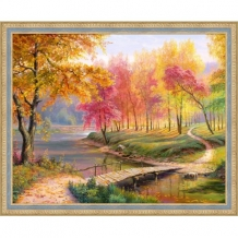 Diamond Painting Herfst in het Park