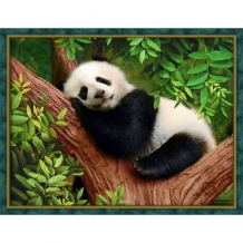 Diamond Painting Slapende Panda