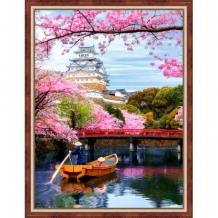 Diamond Painting Bloeiende Sakura