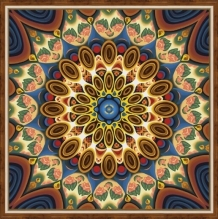 Diamond Painting Mandala of wellbeing