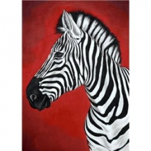 Diamond Painting Zebra