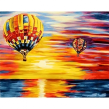 Diamond Painting Luchtballonnen